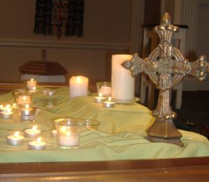 cross candles 2