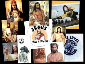 Jesus-Collage