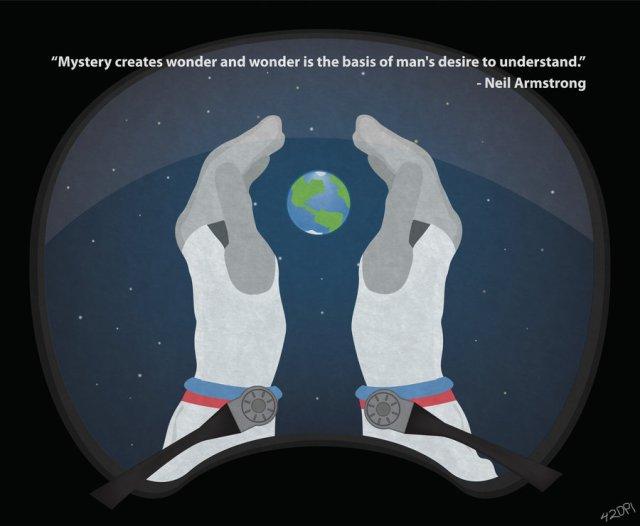 http://42dpi.deviantart.com/art/Neil-Armstrong-Mystery-creates-wonder-337725536