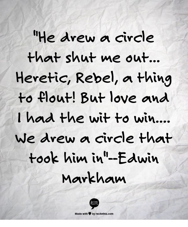 Outwitted Edwin Markham